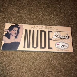 NEW The Balm Nude Dude Makeup Palette
